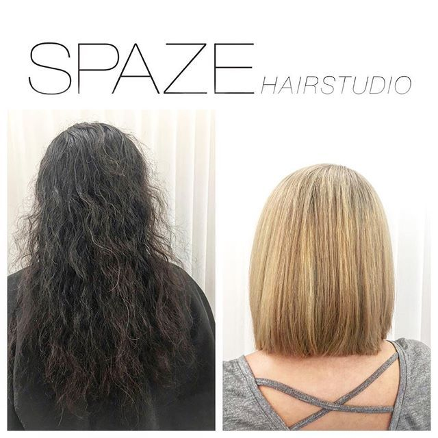 Vorher Nachher Spaze Spazehairstudio Beforeandafter Hairchange Fromlongtoshort Meches Blonde Blondehighlights Olaplex Wella Hair Styles Long Hair Styles Hair
