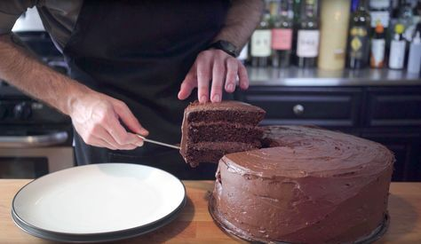 Chocolate Cake inspired by Matilda