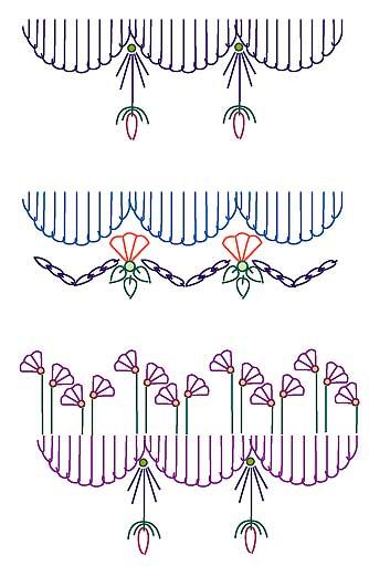 find how to make a neat buttonhole incrochet
