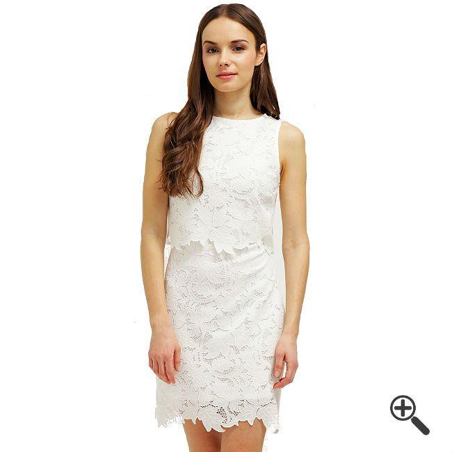 Weißes Cocktailkleidkombinieren + 3Weiße Outfits für Freya http://www.fancybeast.de/weisses-cocktailkleid-kurz/ #Weiß #Cocktailkleider #Kleider #Dress #Outfit #White Weißes Cocktailkleid Kurz