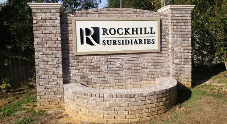 Monument Corporate Identity Signage by Pensacola Sign #pensacolasign #signage #sign #signs #businesssign #locabusiness #pensacola #pensacolaflorida #brandidentity #corporateidentity #dimensionallettering