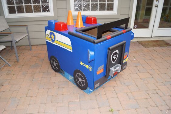 Chase's Paw Patrol car | Paw Patrol Party | Pinterest | Paw Patrol ...