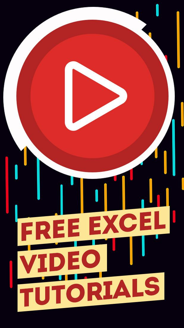 Free Excel Tutorials Videos In 2020 Excel Tutorials Medical Technology Excel For Beginners