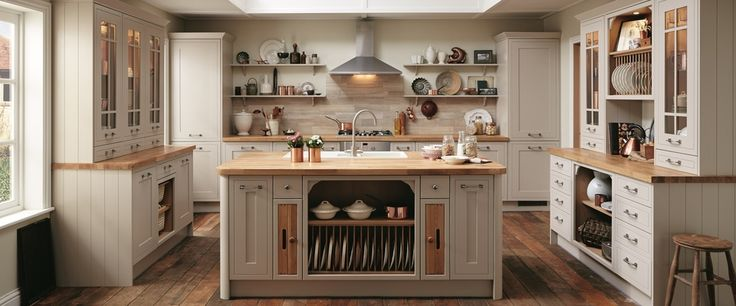 Tewkesbury Framed Stone Traditional Kitchen