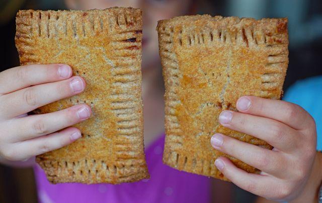 Homemade Whole-Wheat pop tarts