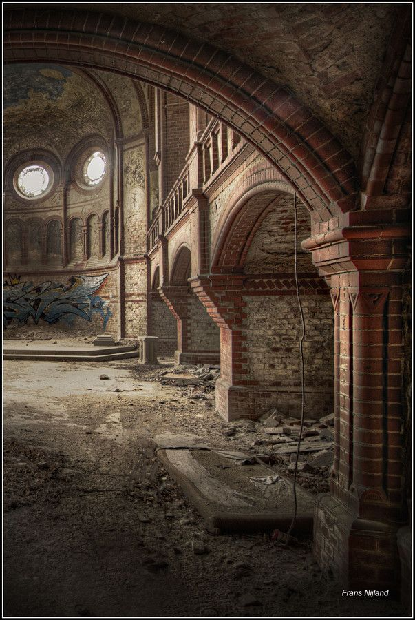 Abandoned church in Germany