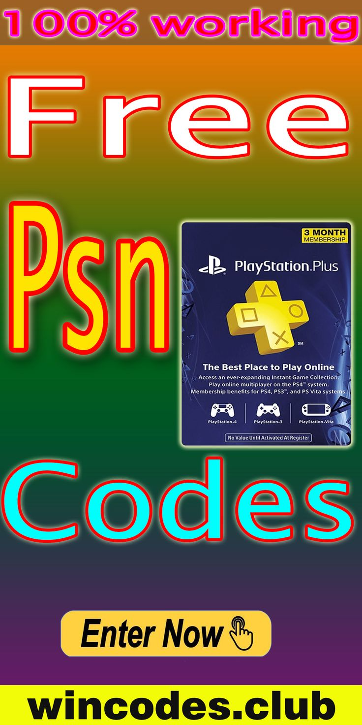 How to get free PSN codes in 2020 Free gift cards, Ps4