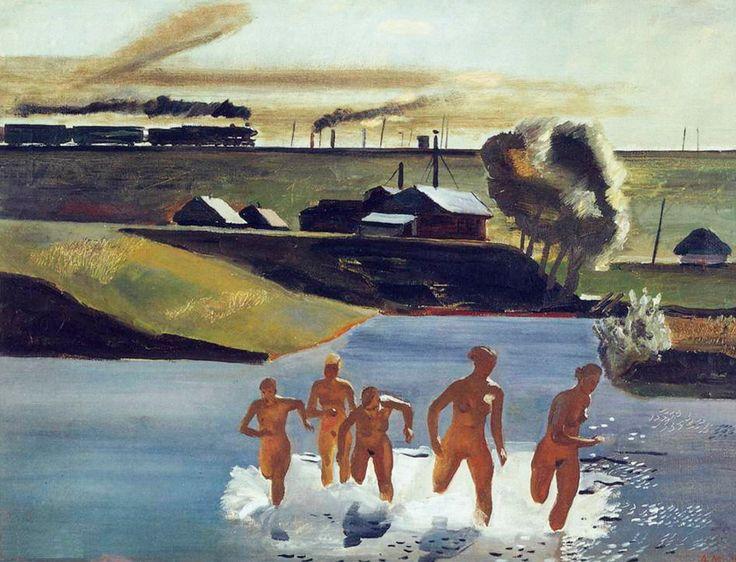 """socrelax: """"Alexandr Deyneka, Midday, 1932 """""""