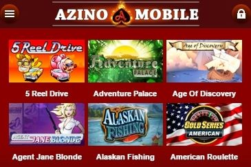 100 Super Games: Azino Mobile