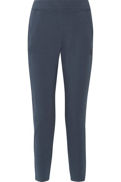 Nike - Nikelab Essentials Stretch-cotton Track Pants - Storm blue - x large