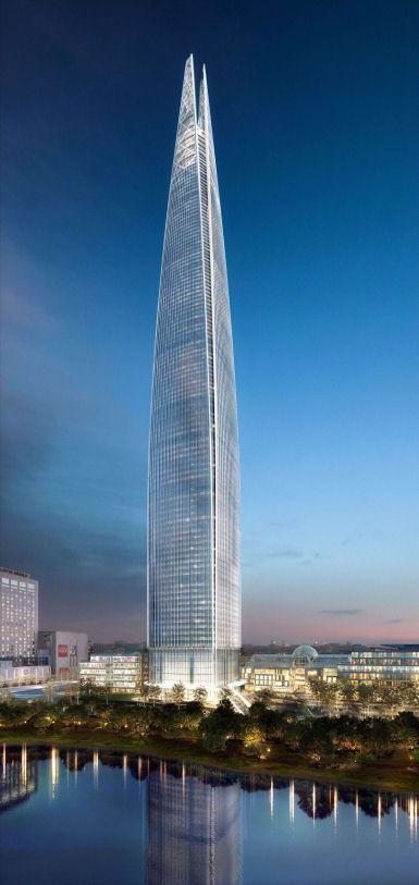 Lotte Super Tower, Kohn Pedersen Fox Associates, world architecture news, architecture jobs  #architecture ☮k☮