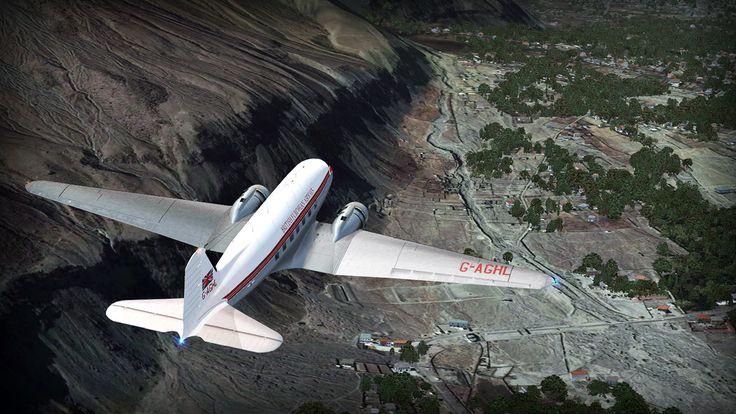 City of Gilgit - MSK - review (4*) • C-Aviation #Pakistan #Gilgit #Karakorum #DC3