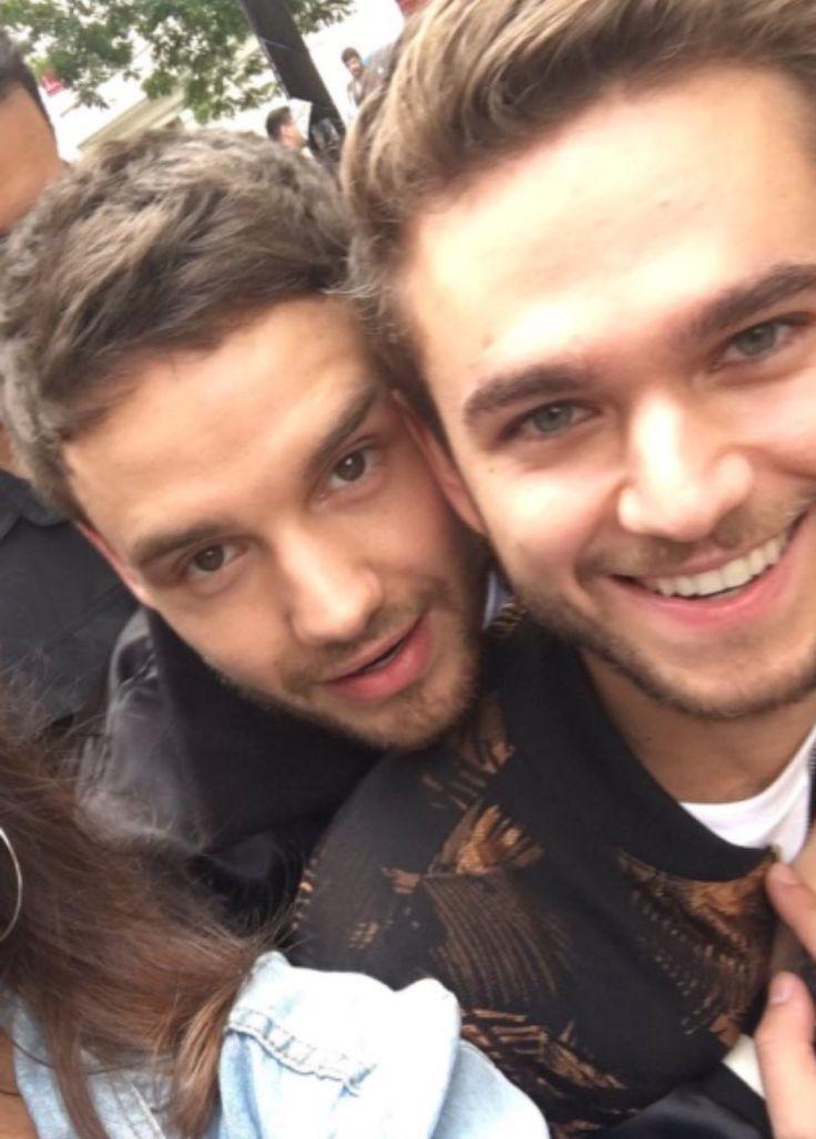 Liam and Zedd in London (2017)