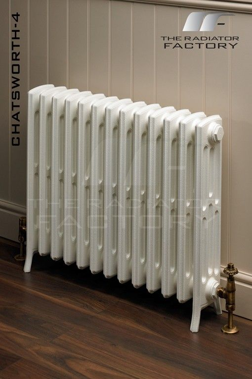 Chatsworth 4 Column Edwardian Cast Iron Radiator