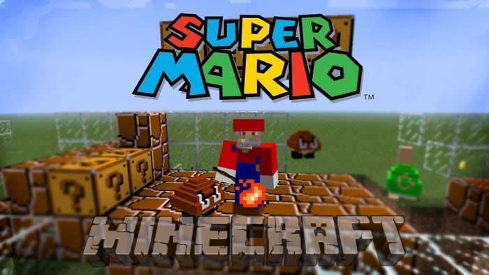 Descargar Super Mario Mod en Minecraft 1.6.2/1.7.10 añadir bloques, turbas y elementos de la serie popular video juego sobre las aventuras de Mario