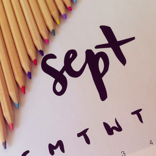 Welcome September: back to school
