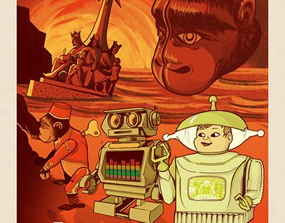 """Check out new work on my @Behance portfolio: """"PLANET OF THE TOYS"""" http://be.net/gallery/49796607/PLANET-OF-THE-TOYS"""