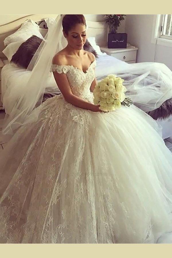 Wedding Dress Plus Size Beautiful Wedding Dress Ball Gown Wedding Dress Lace We Lace Wedding Dress Vintage Wedding Dress Train Wedding Dresses Lace Ballgown