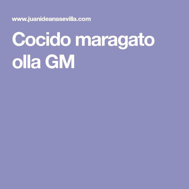 Cocido maragato olla GM