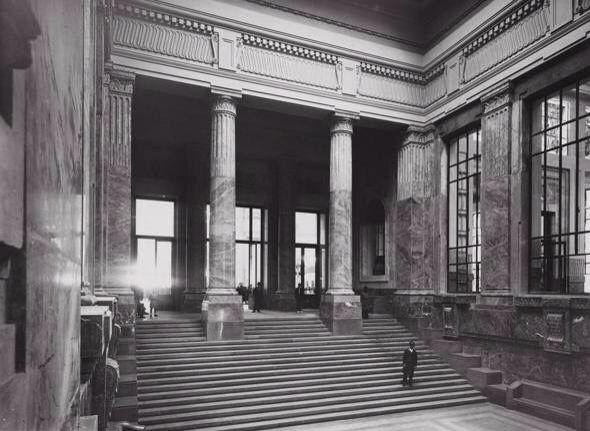 Stazione centrale negli anni '30