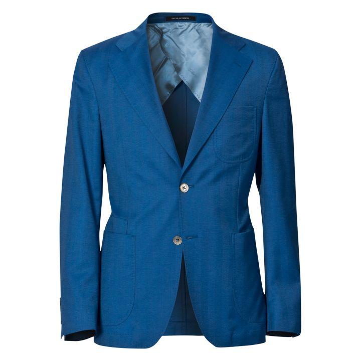 Oscar Jacobson - Finnigan Blazer (Blue) (Front View)