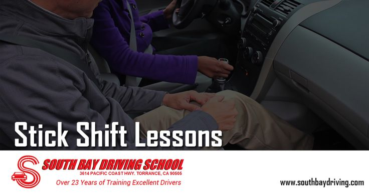 Manual #StickShiftLessons automatic transmissions with South bay driving school. If you want to get training on a stick shift, we have the best Instructors. They can teach you with dual controlled vehicle to allow you to learn safely and quicker.