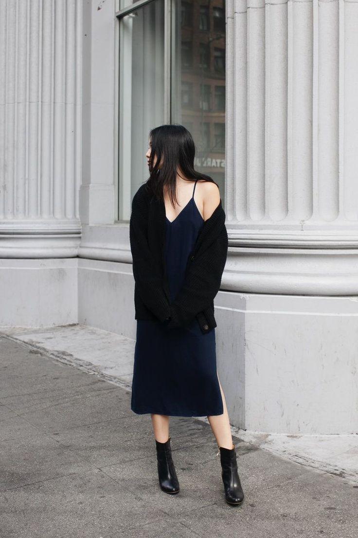 Bloglovin'   How To Pull Off A Slip Dress