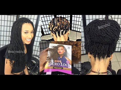 MICRO LOCS [Video] - Black Hair Information