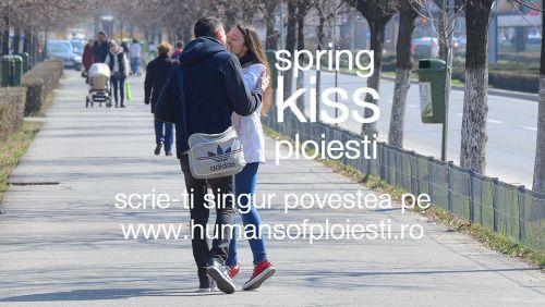 scoate-o in parc. da-i o floare. sarut-o. restul il va face primavara asta superba….  si nu uita sa-ti scrii singur povestea.  pe www.humansofploiesti.ro