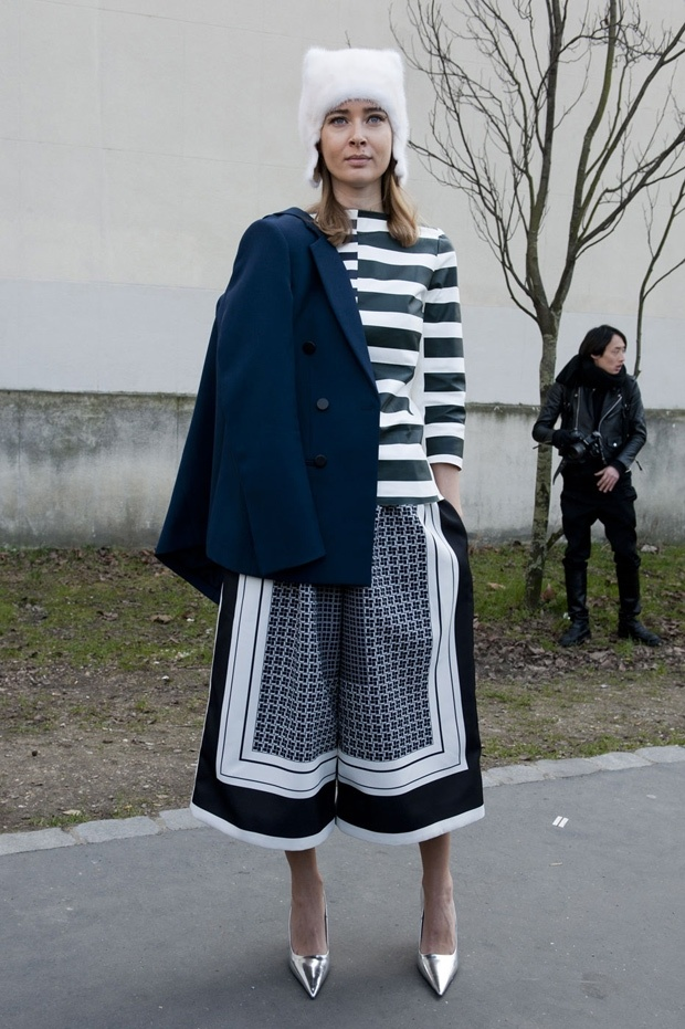 2013 Fashion Week Paris Street Style
