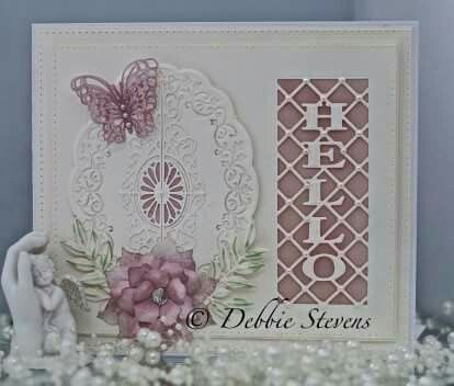how to make thank you cards with sue wilson dies