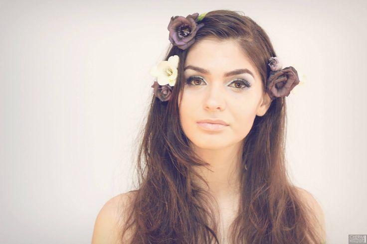 For the sake of make-up Model: Crissta Dinca  Make-Up Artist: Camelia Crp  Photographer: Cherim Latif Nadir  Assistant: Dragos Mitrofan