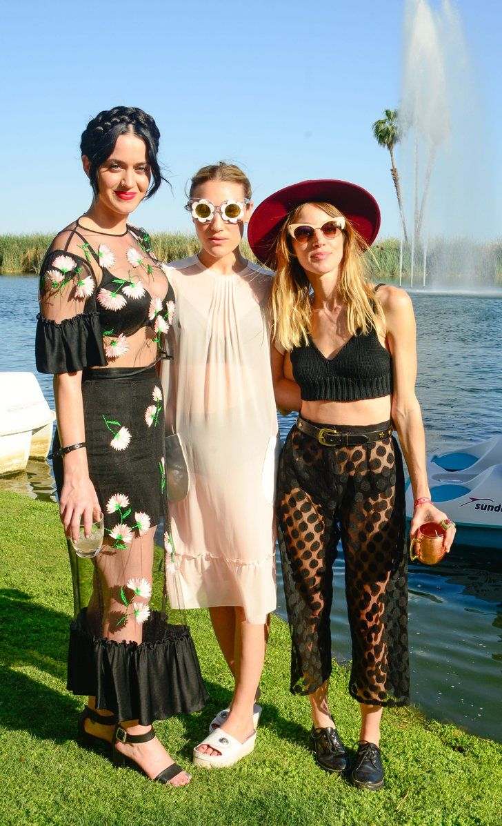 Pin for Later: Coachella or Bust: Celebrities Go All Out For Festival Fun Katy Perry