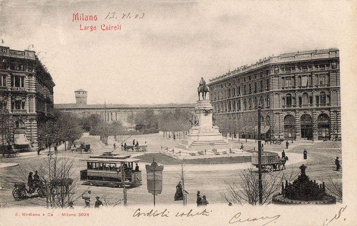 Largo Cairoli 1903