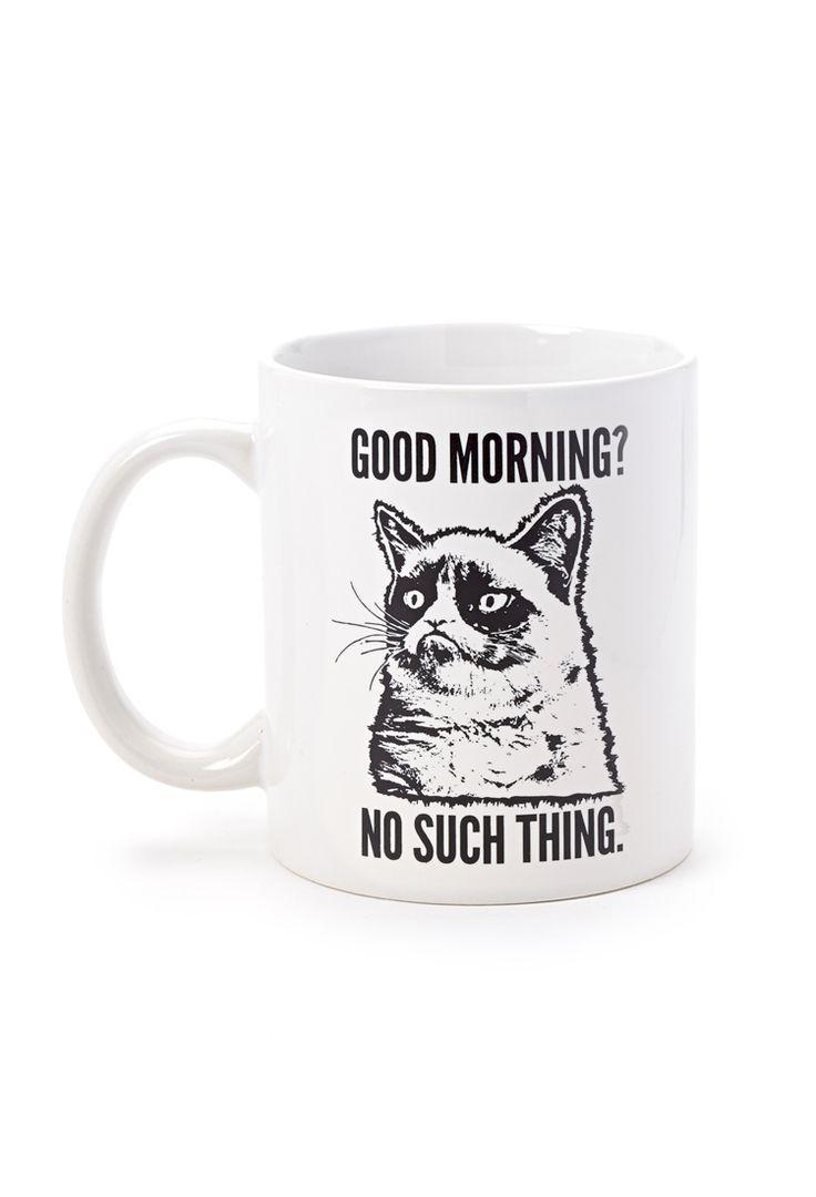 Good Morning Coffee Mug   FOREVER21 - 1000127183