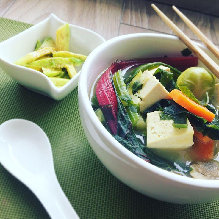 Sopa Oriental de Vegetales y Tofu - Mejor Real que Perfecto