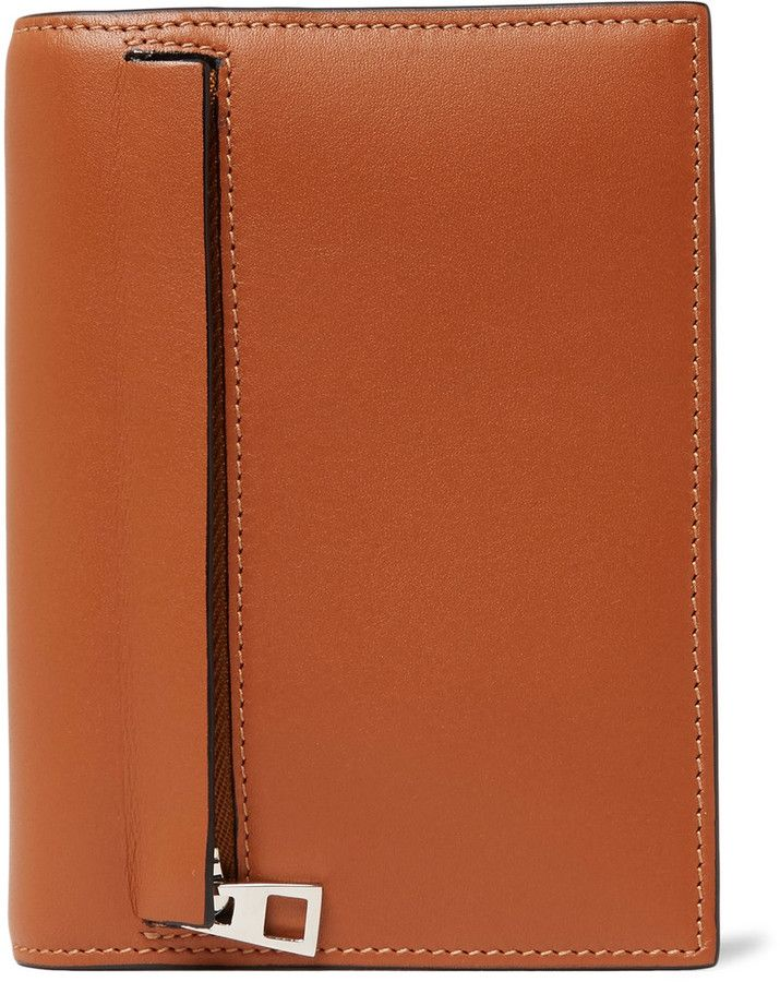 Loewe Zipped Leather Bifold Wallet