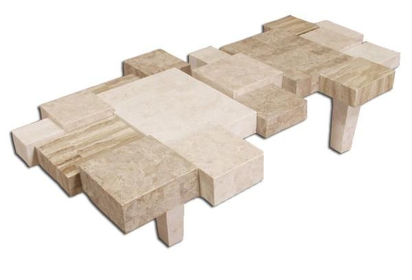 Cantor Stone Coffee Table