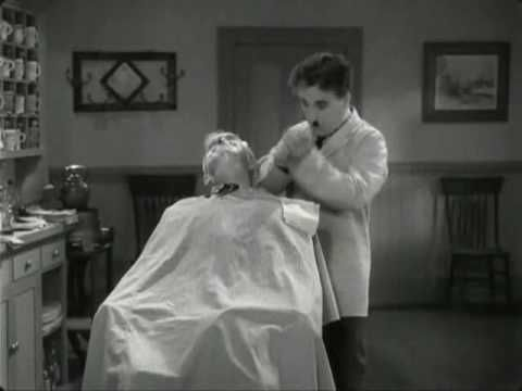 Charlie Chaplin - The Great Dictator  - Very Funny Barber Scene  https://www.facebook.com/pages/Hairdresser/1601748436712114