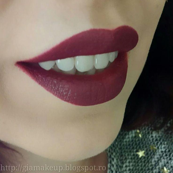 #makeup #lips #goldenrose