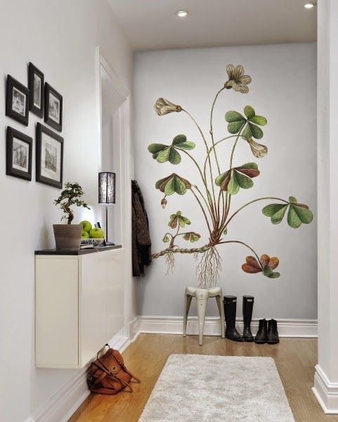 167 best images about wallflower silhouettes on pinterest for Mural decorativo pared