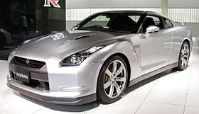 The Nissan GT-R is a handbuilt 2-door 2+2high performance vehicle produced by Nissanunveiled in 2007.[3][4][5] It is the successor to the Nissan Skyline GT-R although no longer part of the Skyline range itself.