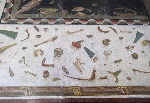 Asarotos oikos pavimento non spazzato grande mosaico for Mosaico pavimento