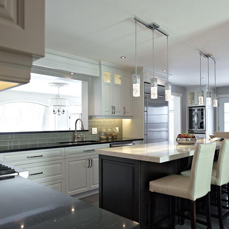 17 meilleures id es propos de cuisine aire ouverte sur for Cuisine avec passe plat