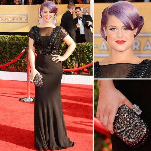 Kelly Osbourne: SAG Awards Red Carpet Dresses 2013