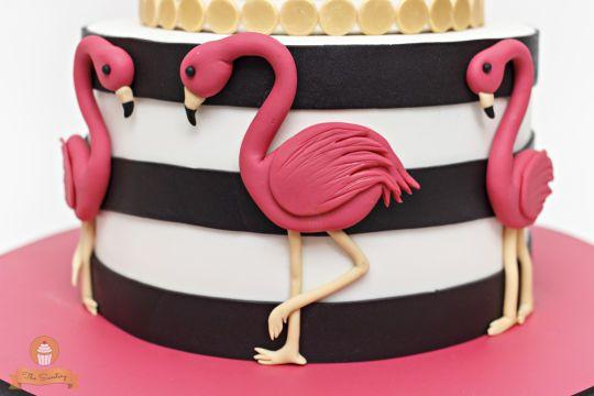 how to make flamingo cupcakes