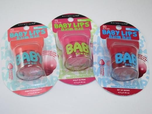 Maybelline New York Baby Lips Balm Ball Tinted Lip Balm Choose Your Color B2g 15% Off