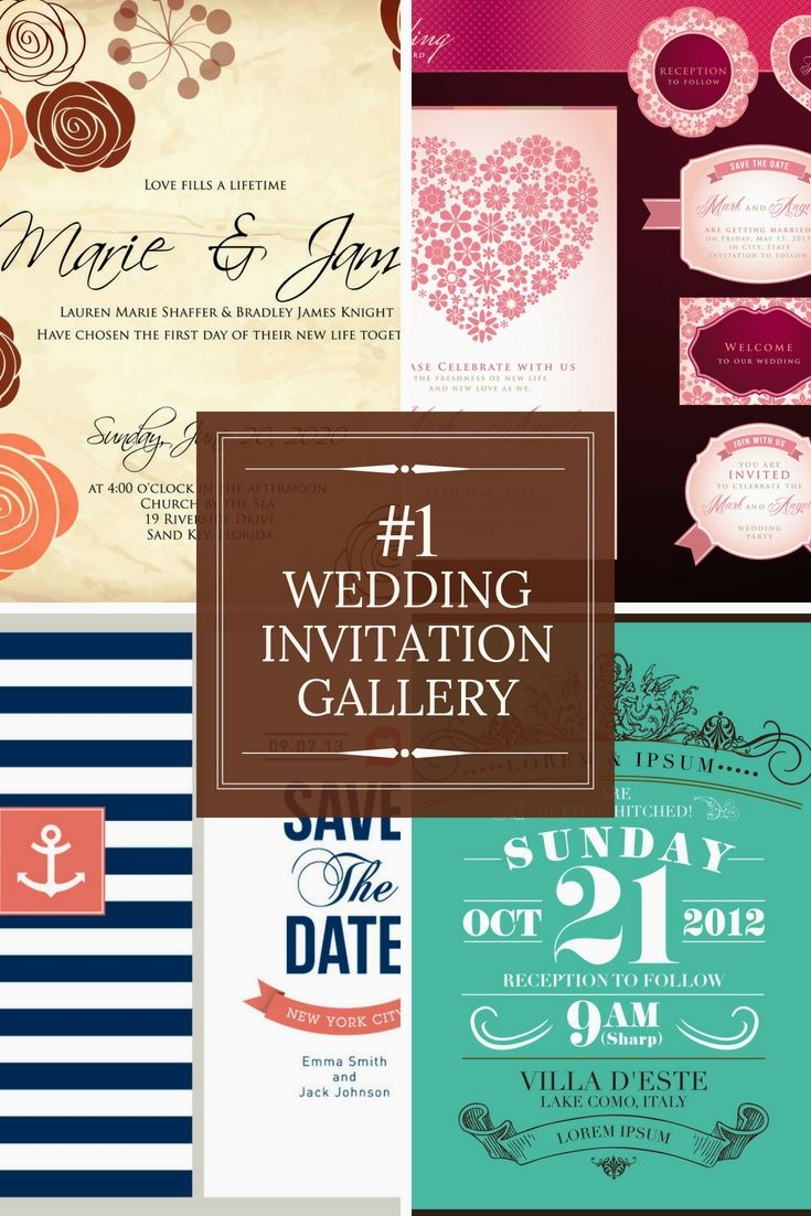 Absolutely Free Wedding Invitation Cards Examples Start