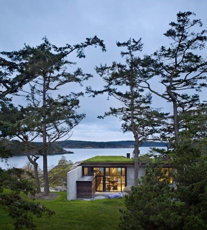 San Juan Islands, USA  Byggnadstyp: Villa  Byggår: 2010:  Arkitekter: Olson Kundig Architects