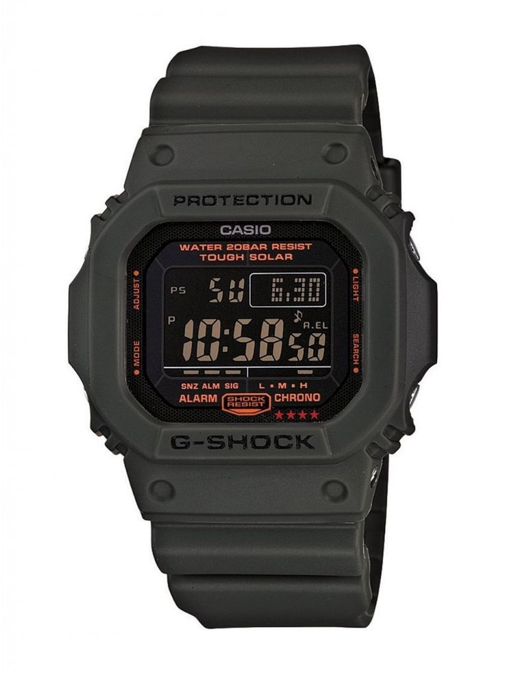 Casio Men's G5600KG-3CR G-Shock Military Green Multi-Function Digital Watch